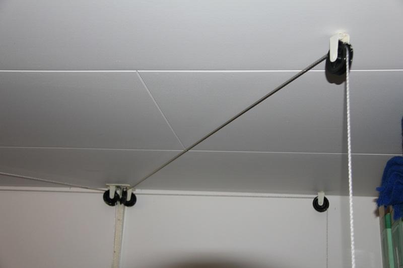 hissa upp takbox i taket