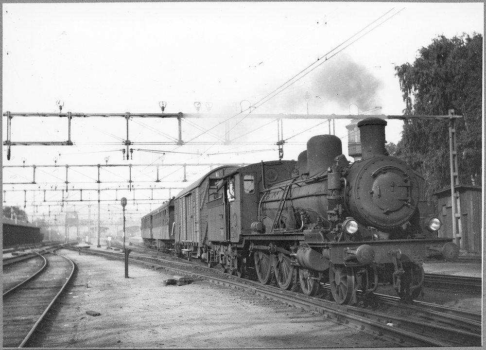SJ C 618, Borås 1947. Samlingsportalen Jvm.KDAJ07606