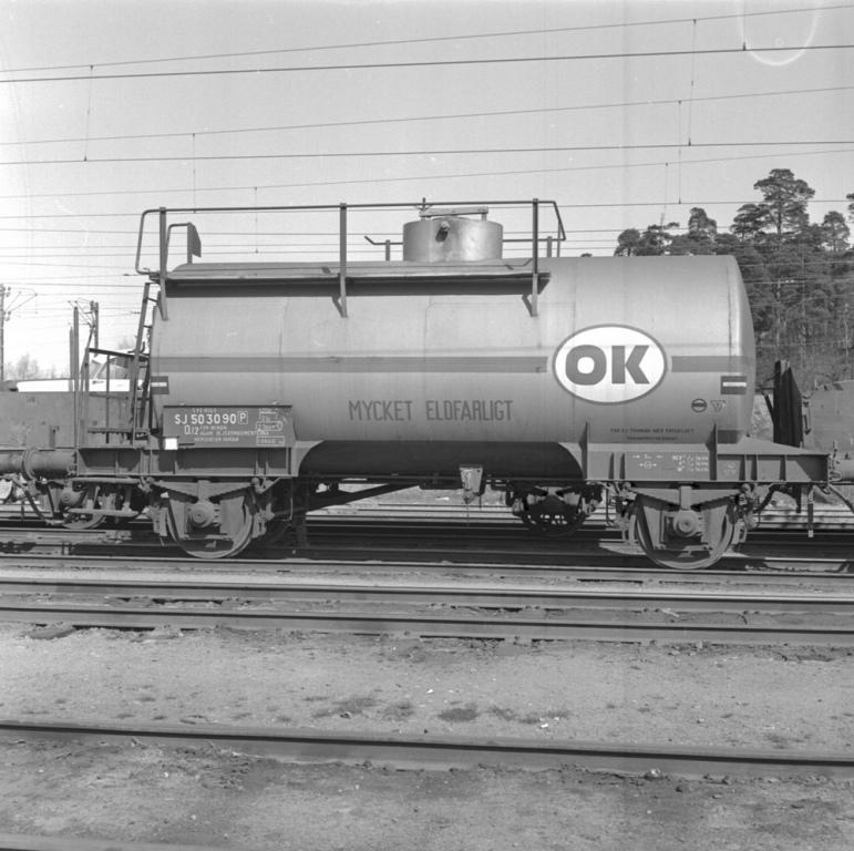 SJ Q12 503090, OK, en standardvagn från 50-talet. Källa Samlingsportalen Jvm.KBDB09597