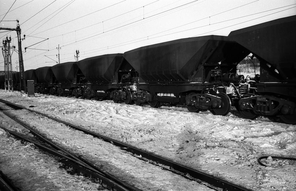 Uadp-vagnar i Kiruna